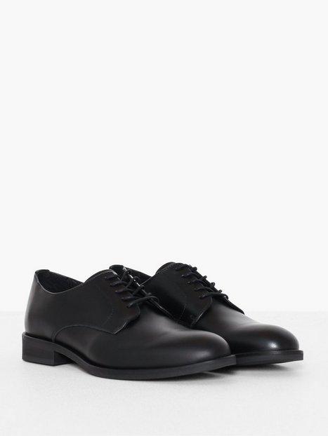 Selected Homme Slhlouis Leather Derby Shoe B Noos Sneakers Sort - herre