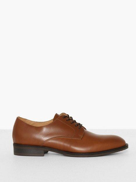 Selected Homme Slhlouis Leather Derby Shoe B Noos Sneakers Lysebrun - herre