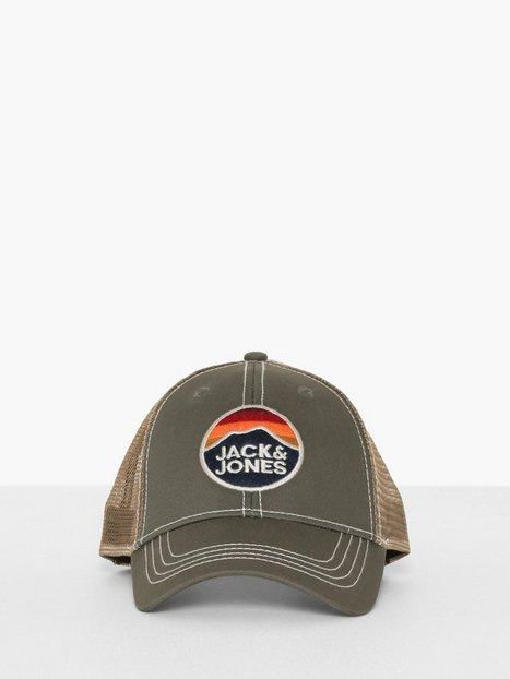 Jack Jones Jacmick Trucker Cap Kasketter Olive - herre