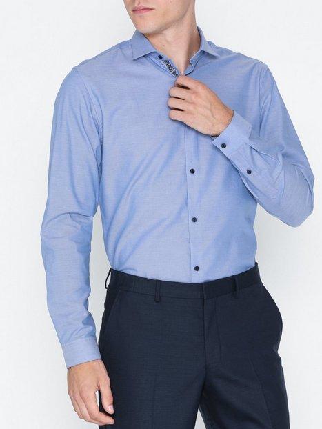 Premium by Jack Jones Jprvictor Shirt L S Noos Skjorter Blå - herre