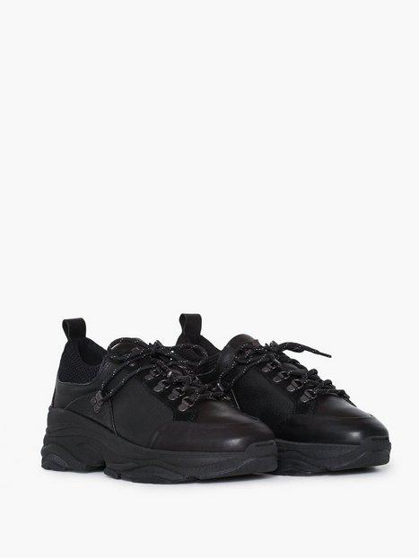 Selected Homme Slhnick Trainer W Sneakers Sort - herre