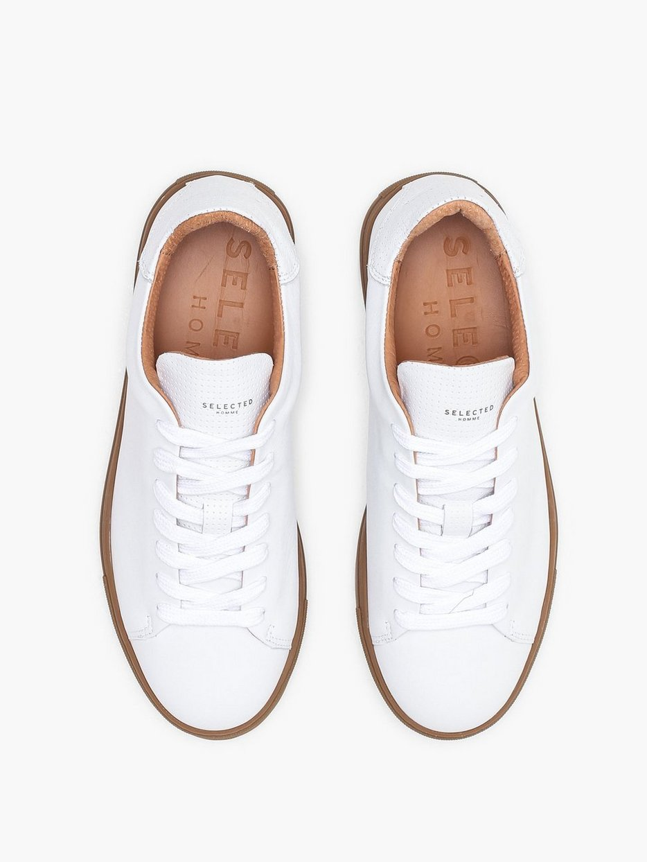 SLHDAVID CONTRAST SOLE TRAINER W