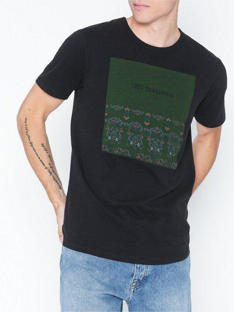 Premium by Jack Jones Jprgray Bla. Tee Ss Crew Neck T shirts undertrøjer Sort - herre