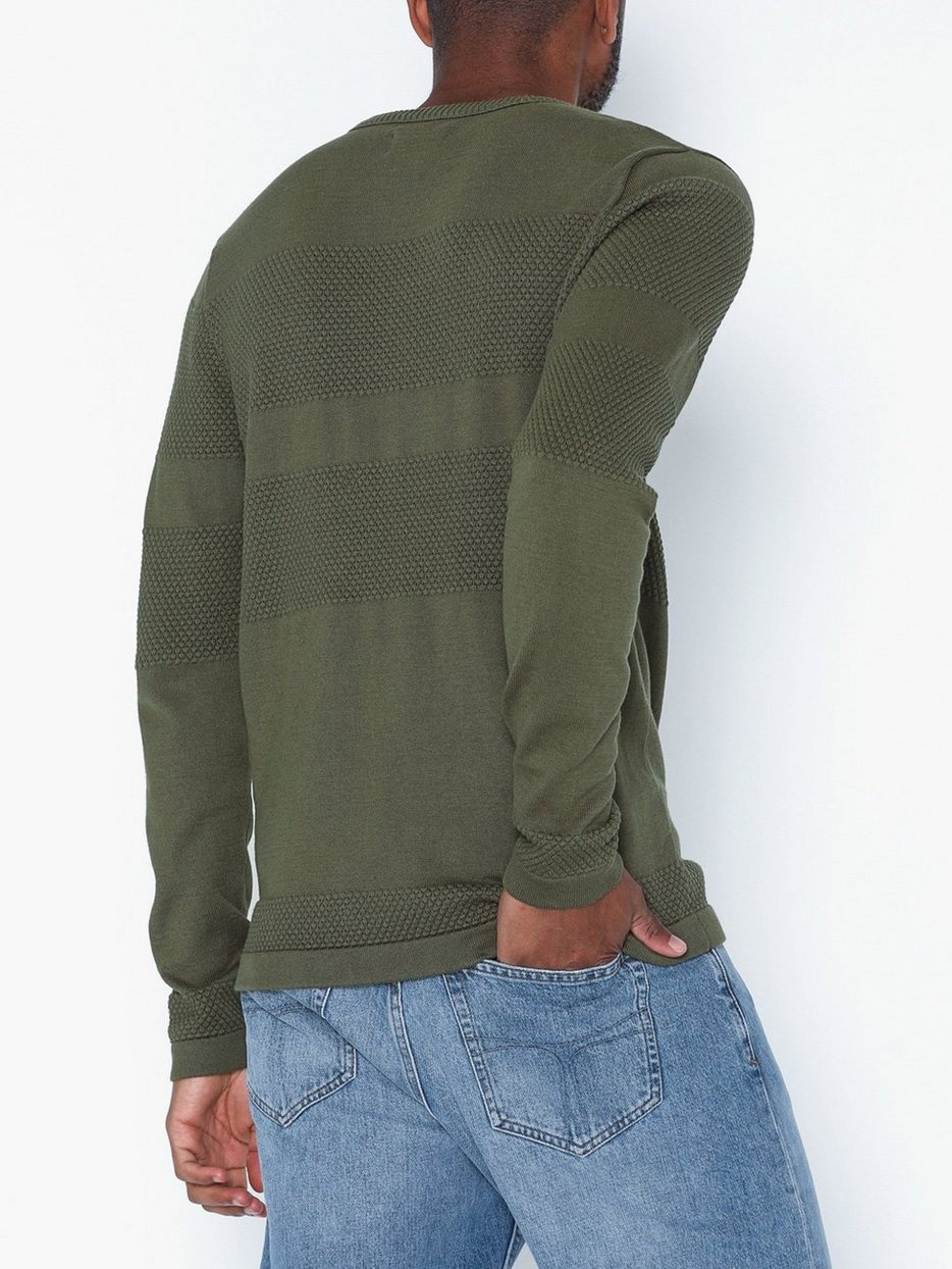 JORTRISTAN KNIT CREW NECK