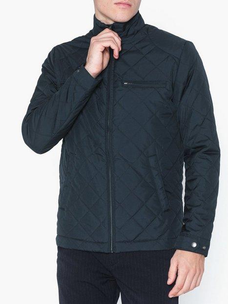 Selected Homme Slhjason Quilted Jacket W Blazere jakkesæt Mørkeblå - herre