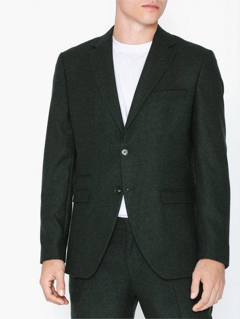 Selected Homme Slhslim Myloiver Green Blz B Noos Blazere jakkesæt Mørkegrøn - herre
