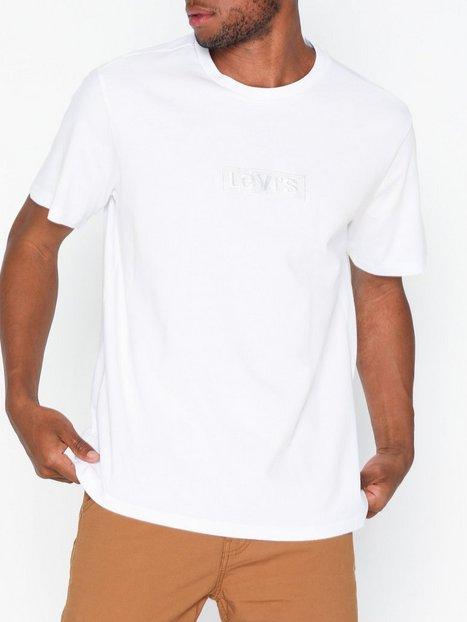 Levis Relaxed Graphic Tee Babytab Ss T shirts undertrøjer Hvid mand køb billigt