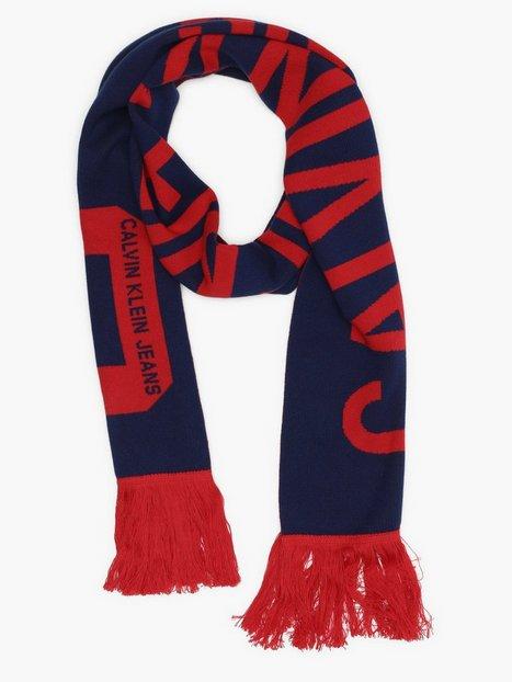 Calvin Klein Jeans J Supporter Scarf Halsdukar & scarves Blå
