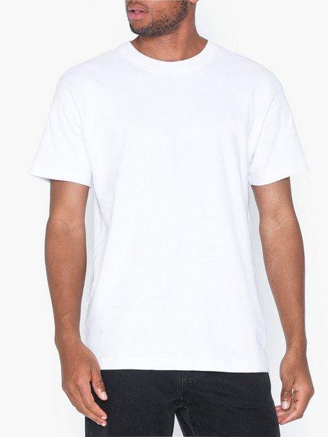 Premium by Jack Jones Jprnight Bla. Tee Ss Crew Neck T shirts undertrøjer Hvid - herre