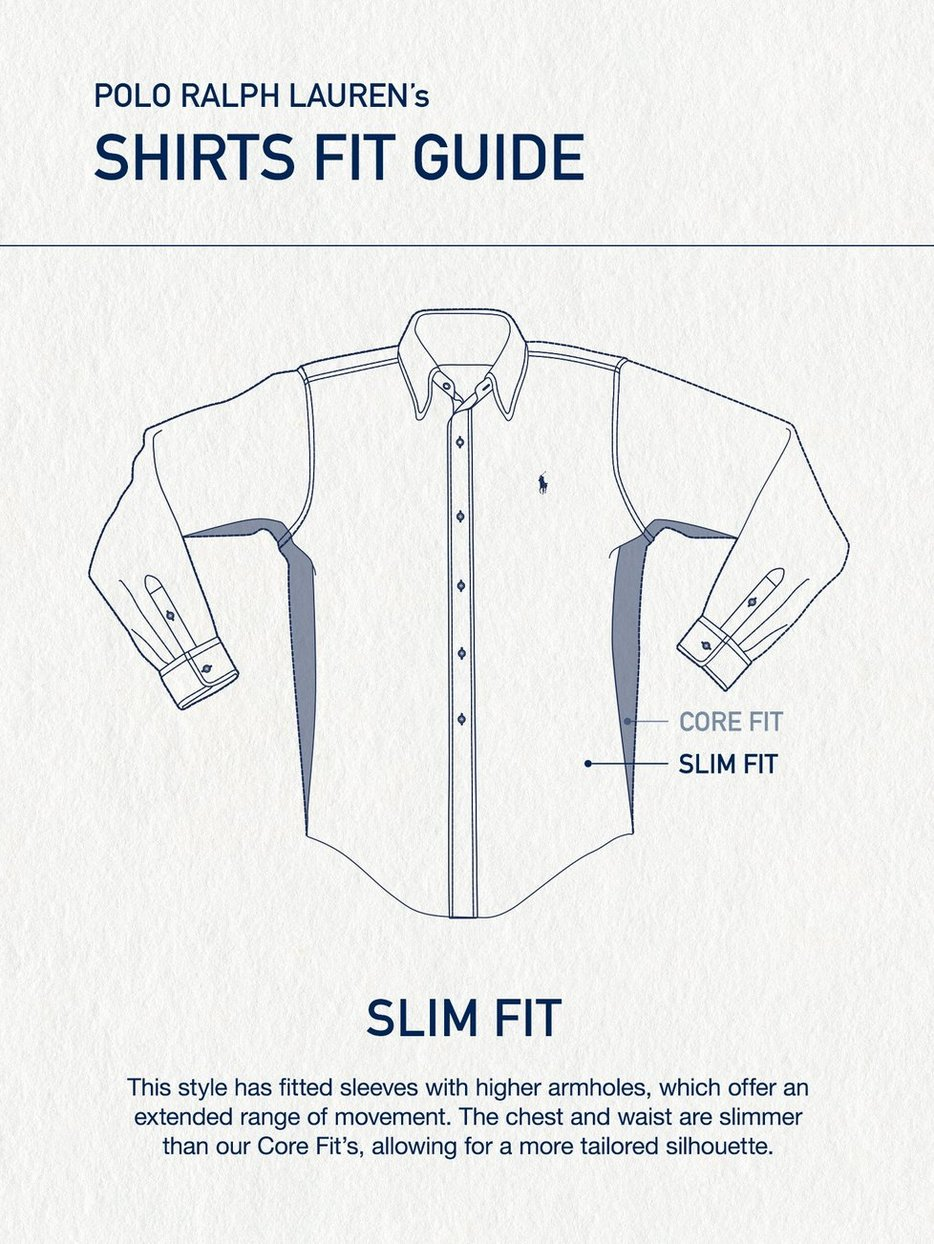 Slim Fit Denim Shirt