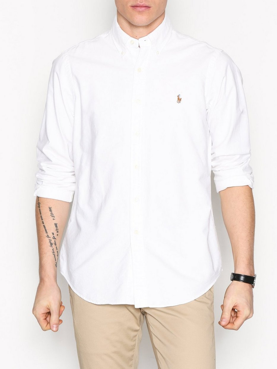 5b0fc44fe Core Fit Oxford Shirt - Polo Ralph Lauren - White - Shirts (Men ...