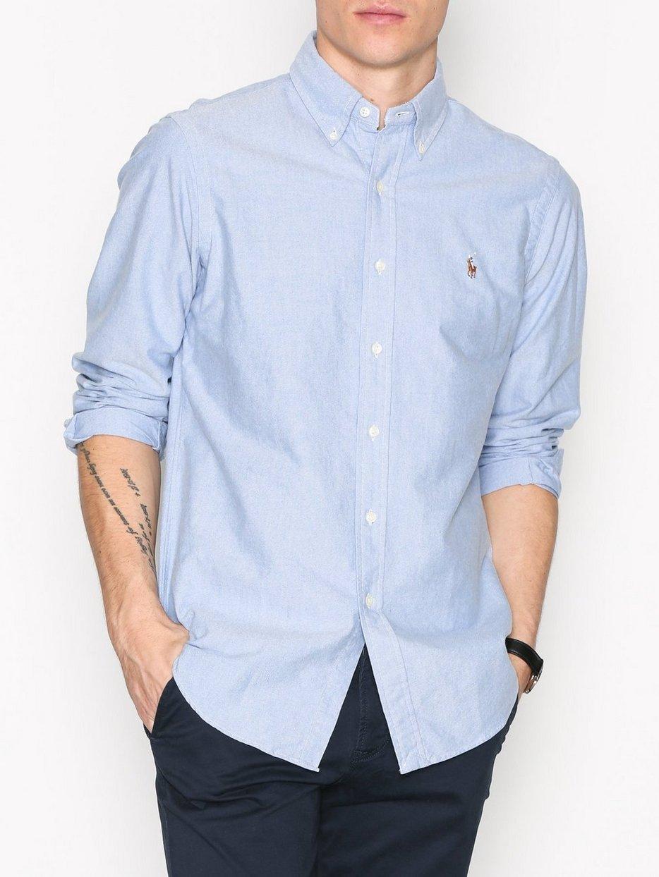 4c578e460d00 Core Fit Oxford Shirt - Polo Ralph Lauren - Blue - Shirts (Men ...