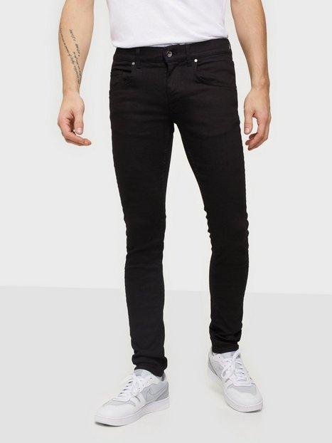 Tiger Of Sweden Jeans Slim Black Jeans Black mand køb billigt