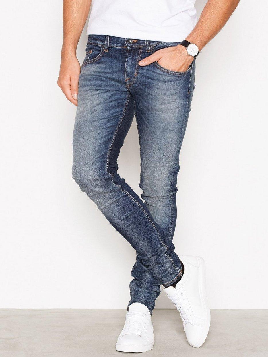 e7c195a858f Slim Jeans - Tiger Of Sweden Jeans - Blue - Jeans - Clothing - Men ...