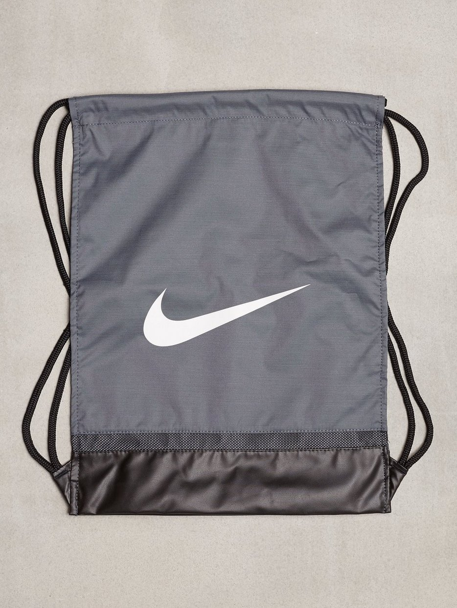 22ab091e9fdbc Nike Brasilia Gymsack - Nike - Grey - Training Bags - Sports Fashion ...