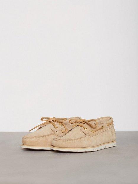 Timberland Tidelands 2 Eye Croissant Hammer II Loafers slippers Brown mand køb billigt