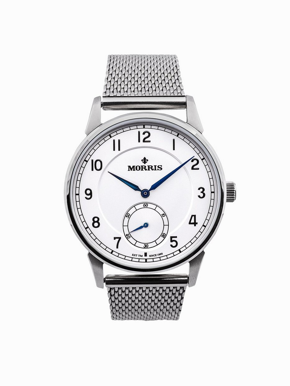 dial mesh skagen ladies white ancher watch watches