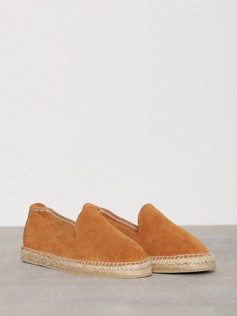 OAS Espadrilles Loafers slippers Brown mand køb billigt