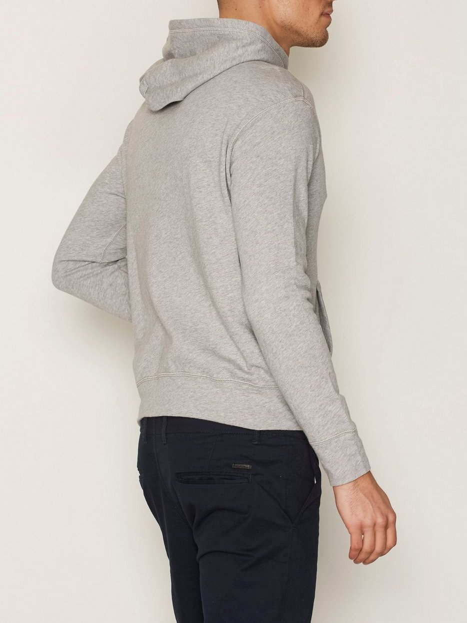 Terry Long Sleeve Hood