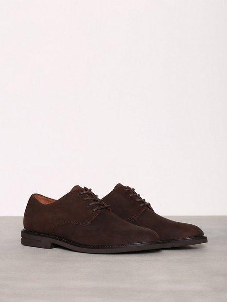 Polo Ralph Lauren Torian Lace Ups Dress shoes Dark Chocolate mand køb billigt