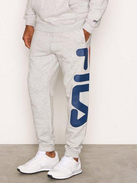 Fila Classic Basic Pants Bukser Light Grey Melange mand køb billigt