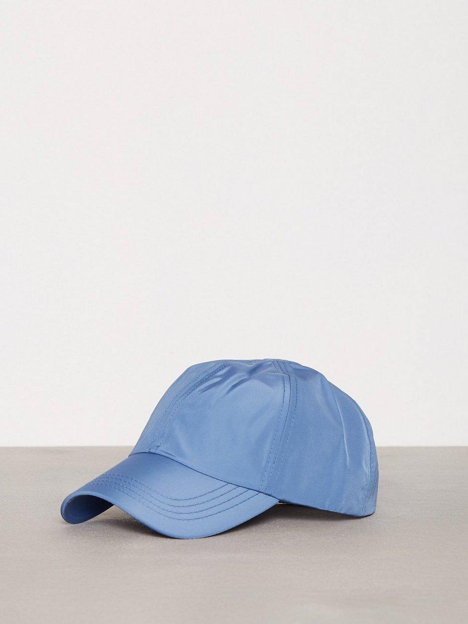 Bright Blue Nylon Curve Peak Cap