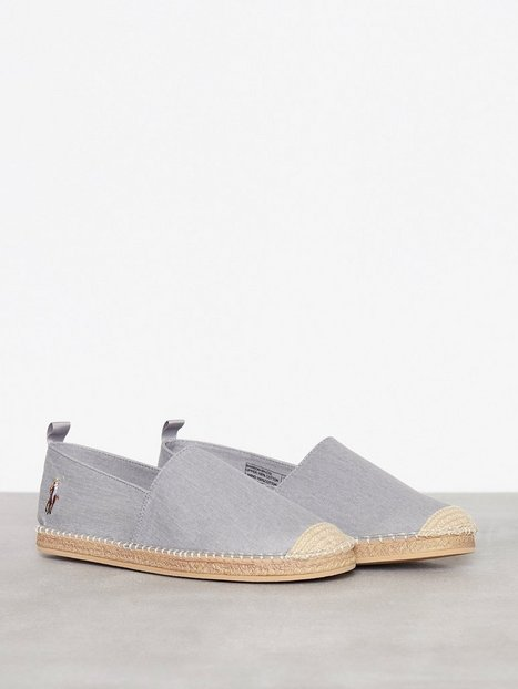 Polo Ralph Lauren Barron Shoe Loafers slippers Grey mand køb billigt