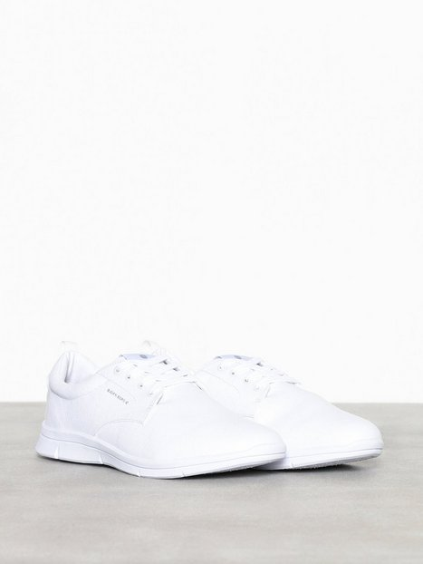 Björn Borg X200 Low Canvas Sneakers tekstilsko White - herre