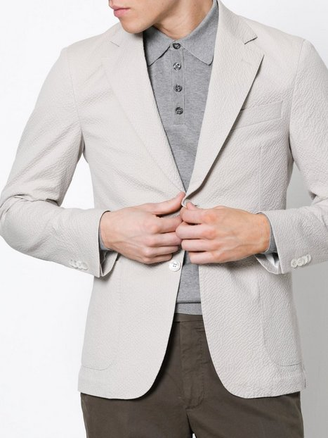 Oscar Jacobson Edgar Blazer Blazere jakkesæt Beige mand køb