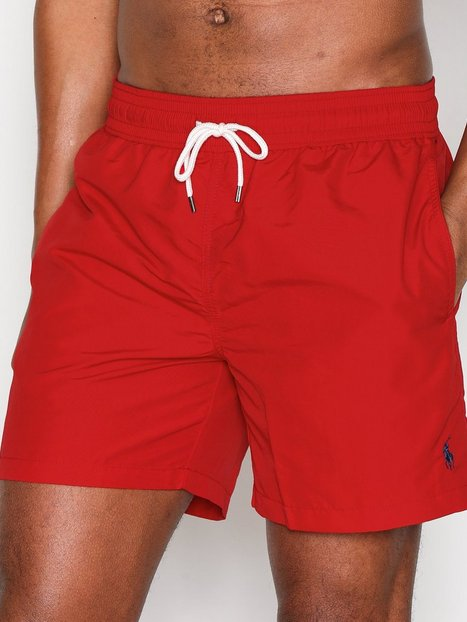 Polo Ralph Lauren Traveler Swim Shorts Badetøj Red - herre