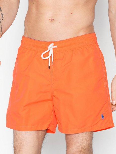 Polo Ralph Lauren Traveler Swim Shorts Badetøj Orange Danger - herre