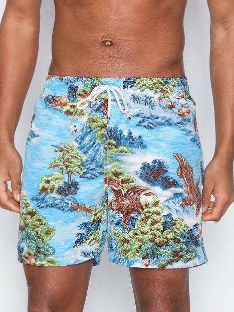 Polo Ralph Lauren Traveler Swim Shorts Badetøj Blue - herre