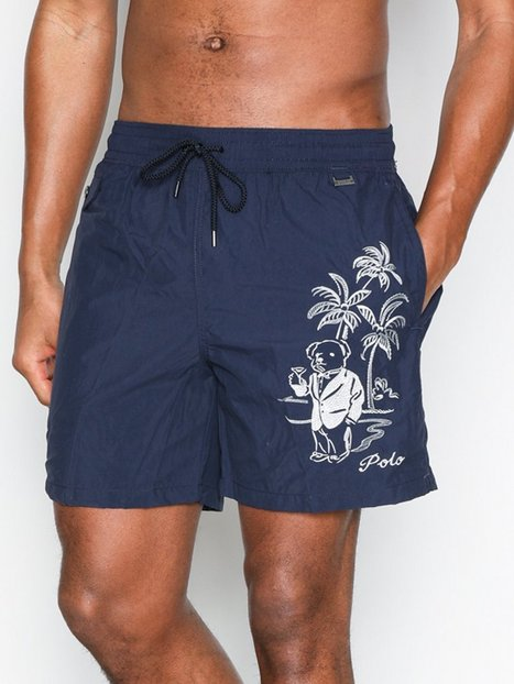 Polo Ralph Lauren Explorer Swim Shorts Badetøj Marine - herre