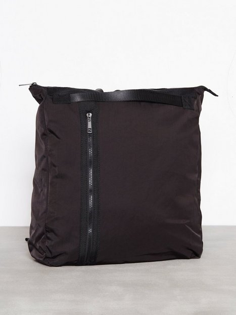 Topman Black Tote Backpack Tasker Black - herre
