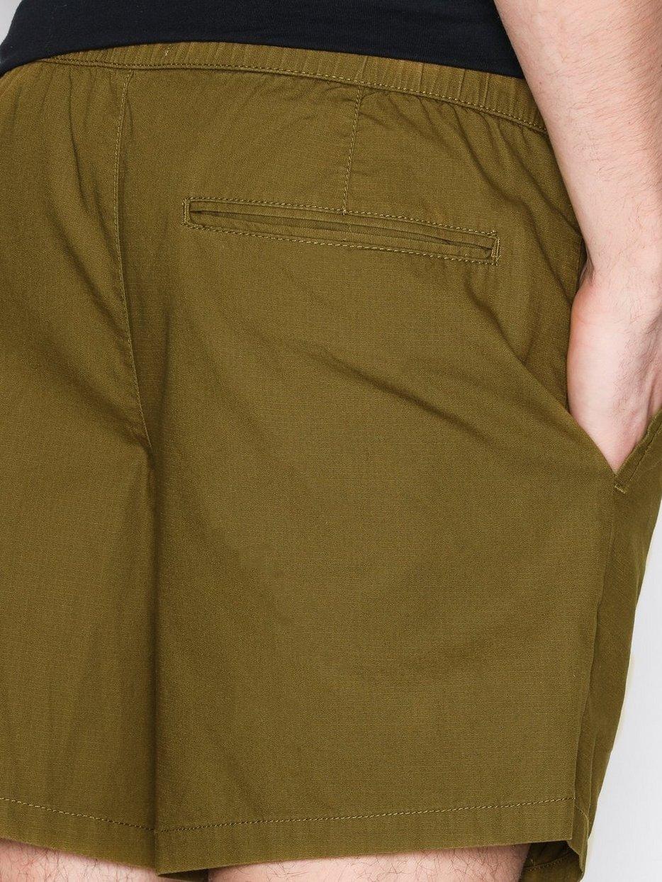 Khaki Ripstop Shorts