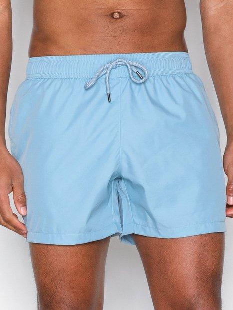 Topman Light Blue Swim Shorts Badetøj Light Blue - herre