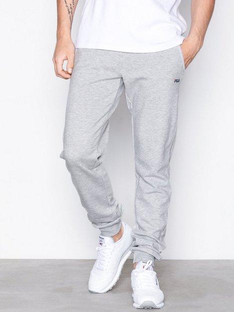 Fila Classic Slim Pants Bukser Light Grey Melange mand køb billigt