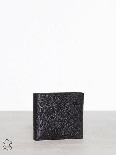 Polo Ralph Lauren Billfold Wallet Small Punge Black - herre