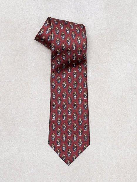 Polo Ralph Lauren Tiem Neck Tie Slips Wine - herre