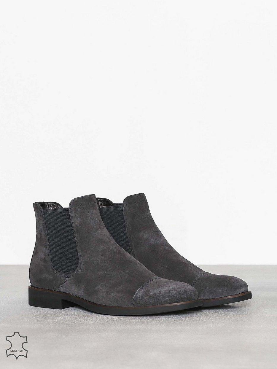 651576ce55a Roy - Vagabond - Dark Grey - Chelsea Boots - Shoes - Men - NlyMan.com