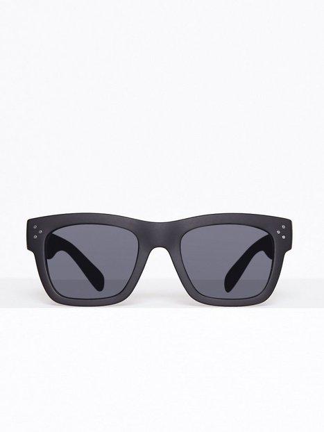Topman Black Chunky Sunglasses Solbriller Black mand køb billigt