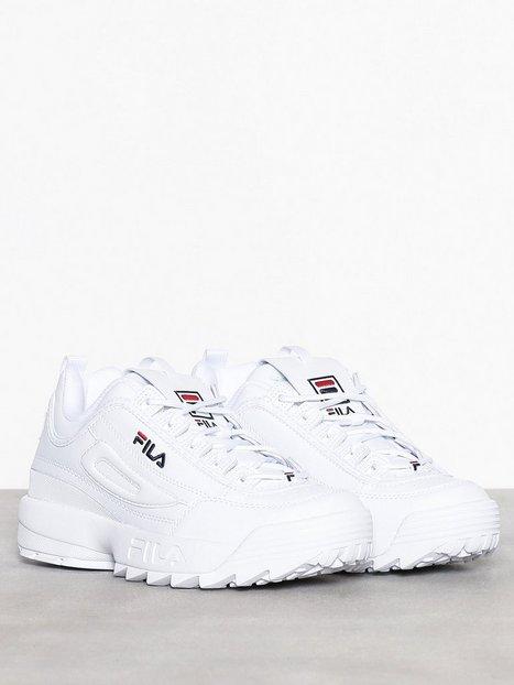 online retailer 4e078 6a99f Fila Disruptor Low Tennarit   kangaskengät White