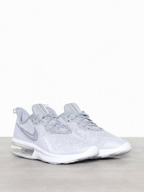 Nike Sportswear Nike Air Max Sequent 4 Sneakers tekstilsko Grå mand køb billigt