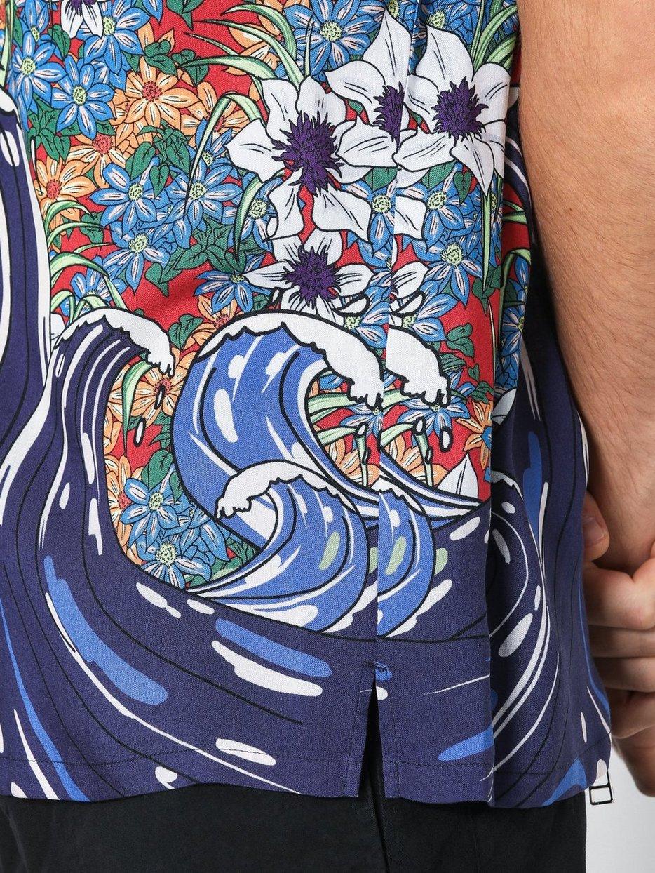 Floral Wave Short Sleeve