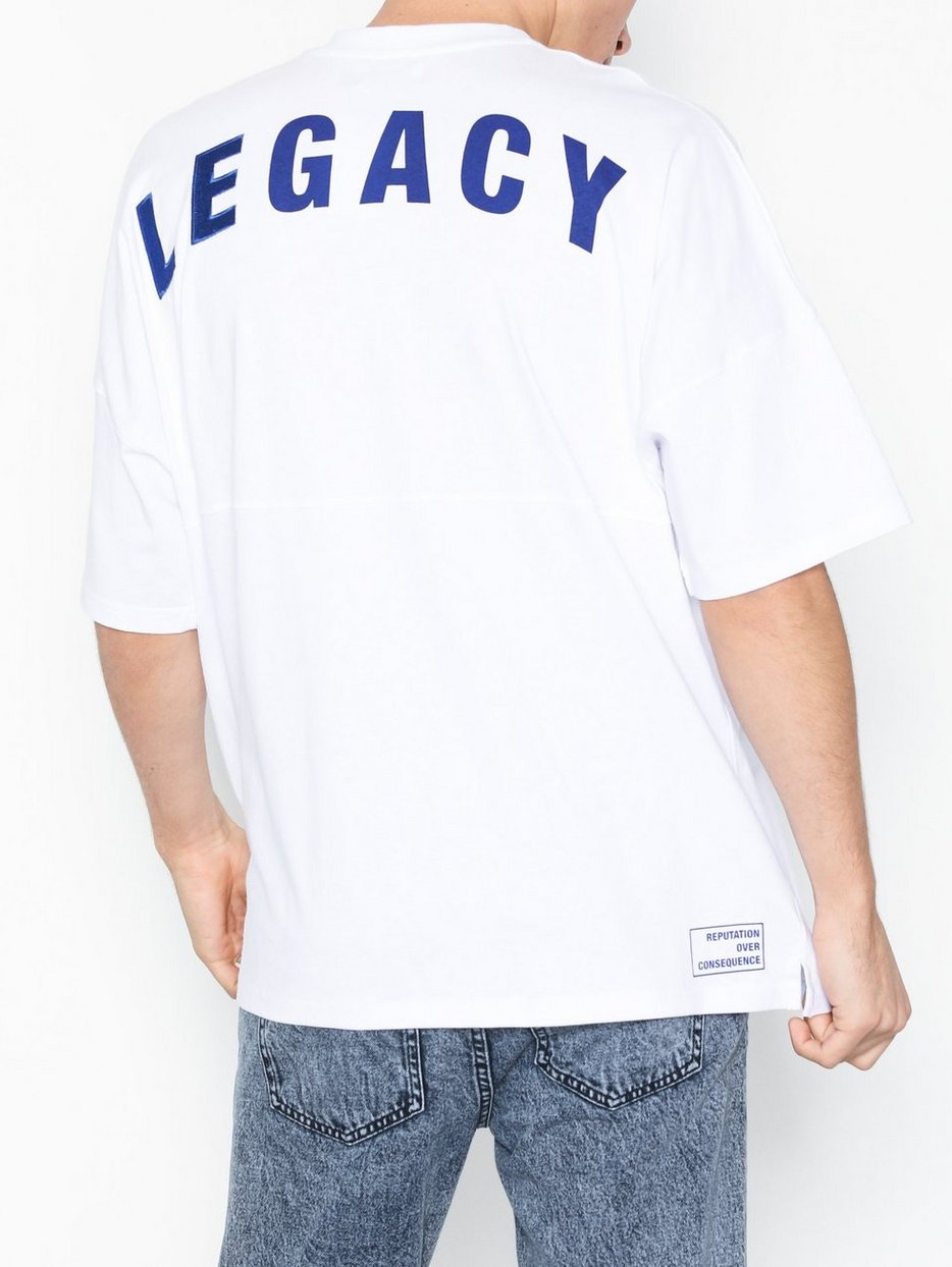 White Legacy  Oversized T-Shirt