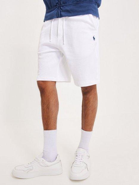 Polo Ralph Lauren Terry Short Shorts White mand køb billigt