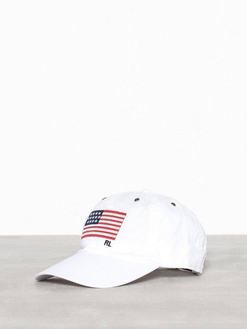 4dc38213 Iconic Cap - Polo Ralph Lauren - White - Caps - Accessories - Men ...