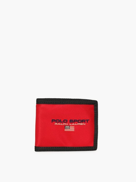 Polo Ralph Lauren Billfold Wallet Punge Red - herre