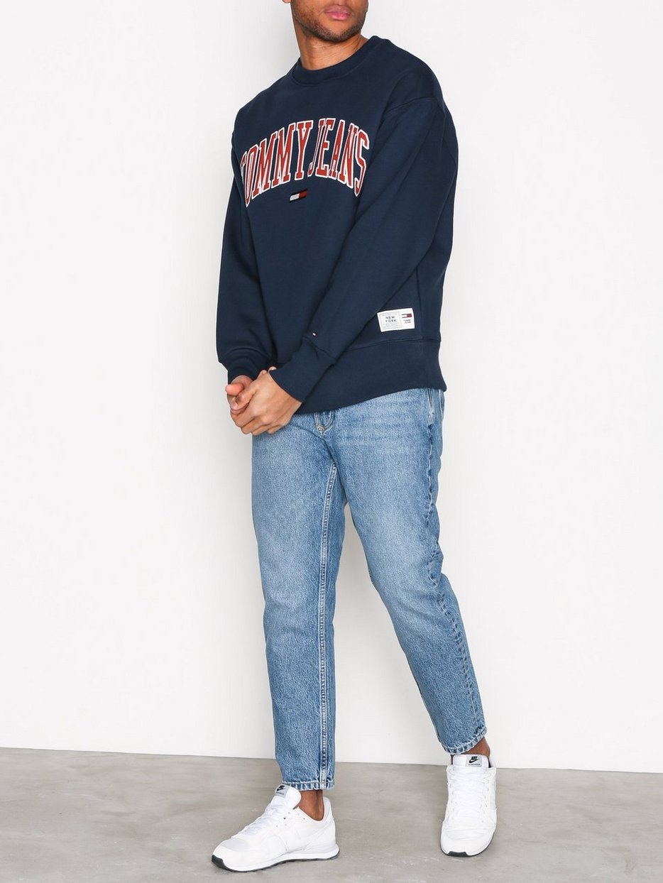 Collegiate Sweat - Tommy Jeans - Navy