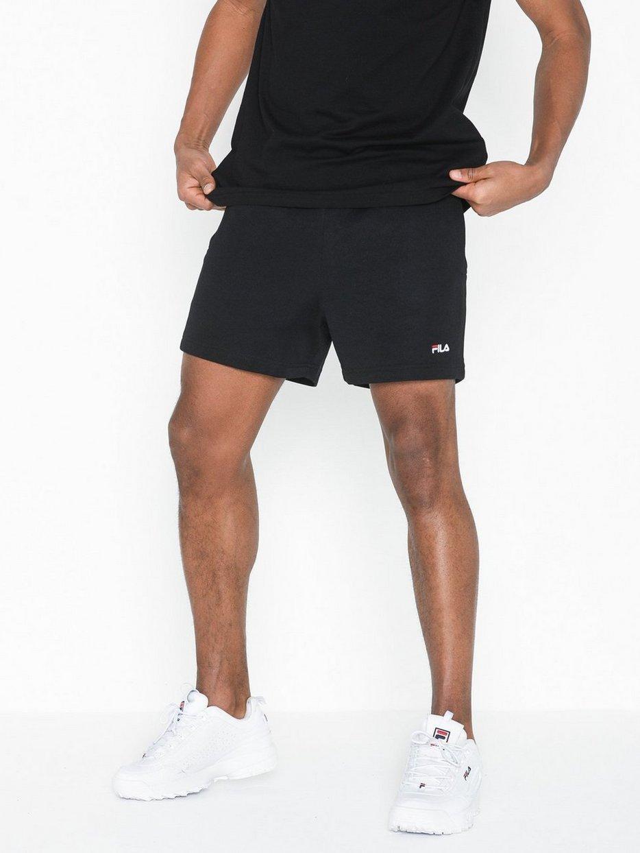7957ba7e436e Men Carlos Shorts - Fila - Black - Shorts - Clothing - Men - NlyMan.com